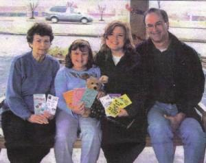 L-R Shirley Porter, April Kelley, Teri and Phillip Kelley